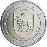 2 euros Zemgale -  avers
