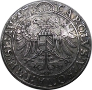 1 thaler - Georg III – revers