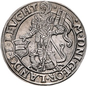 ½ Thaler - Georg III. – avers
