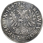 ½ Thaler - Georg III. – revers