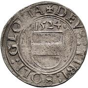 1 Batzen - Johann IV. – revers