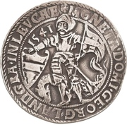 1 Thaler - Georg III. – avers