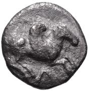 Diobol (Leukas) – avers
