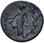 Bronze Æ16 (Leukas) – revers