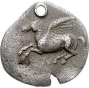 Drachm (Leukas) – avers