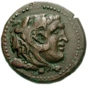 Bronze Æ22 (Leukas) – avers
