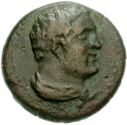 Bronze Æ18 (Leukas) – avers