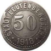 50 pfennig - Leutenberg in Thüringen – avers