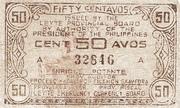 50 Centavos (Leyte) – avers