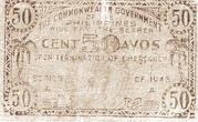 50 Centavos (Leyte) – revers