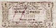 1 Peso (Leyte) – avers
