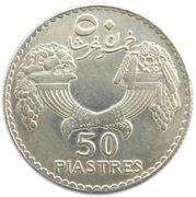 50 piastres – revers