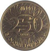 250 līrah / livres -  revers