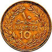 10 piastres -  revers