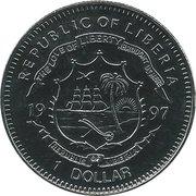 1 Dollar Kon-Tiki – avers