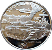 1 Dollar (The Dieppe Raid) – revers