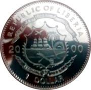 1 Dollar (Greenwich Median) – avers