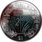 1 Dollar (Greenwich Median) – revers
