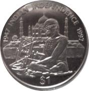 1 Dollar Republic of Liberia – revers