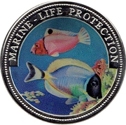 1 Dollar (Marine-life Protection) – revers