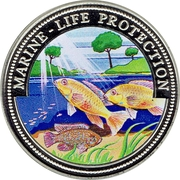 1 Dollar (Marine-life Protection) – revers