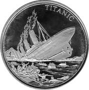 5 dollars Titanic – revers