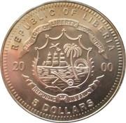 5 dollars (Eagle) – avers