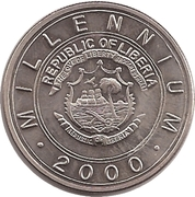 5 Dollars (Millennium 2000 Zodiac - Dragon) – avers