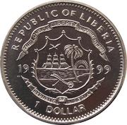 1 Dollar (Mariage du Prince Edward) – avers