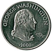 5 dollars (George Washington) – revers