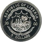 5 dollars (Attaque de Pearl Harbor) – avers