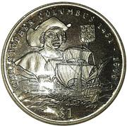 1 Dollar (Columbus) – revers