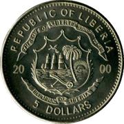 5 dollars (Mayflower) – avers