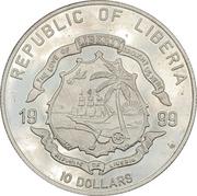 10 Dollars (Bartolomeu Nodal Vijia) -  avers