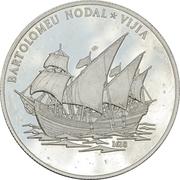 10 Dollars (Bartolomeu Nodal Vijia) -  revers