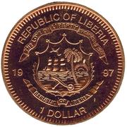 1 Dollar (Dèng Xiǎopíng) – avers