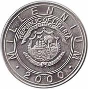 5 Dollars (Millennium 2000 Zodiac - Snake) – avers