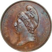 1 Cent (Essai) -  avers