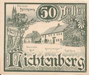 50 Heller (Lichtenberg) – avers