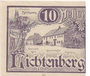 10 Heller (Lichtenberg) – avers
