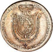 ½ Thaler - Franz Joseph I – revers