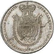 20 Kreuzer - Franz Joseph I – revers