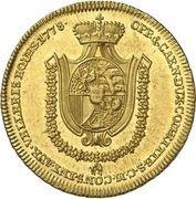 1 ducat Franz Joseph I – revers
