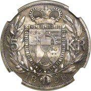 5 Kronen - Johann II (Essai) – revers