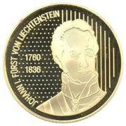 50 francs Hans-Adam II (200 ans de souveraineté) – avers