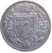 ½ franc Jean II – revers