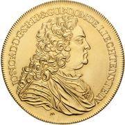 10 Ducat - Josef Johann Adam – avers