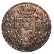 2 couronnes Jean II – revers
