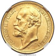 20 Kronen - Johann II (Essai) – avers