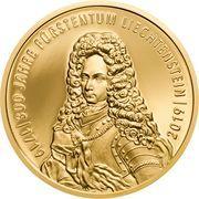 100 Franken - Anton Florian (300 ans Liechtenstein) – avers